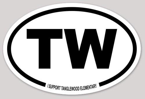 Tanglewood Sticker