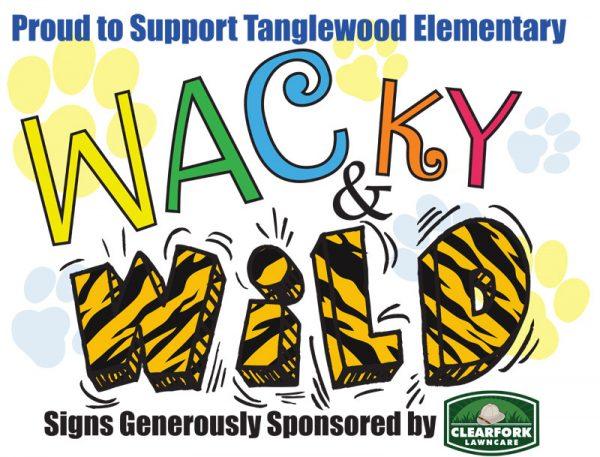 Wacky & Wild Sign