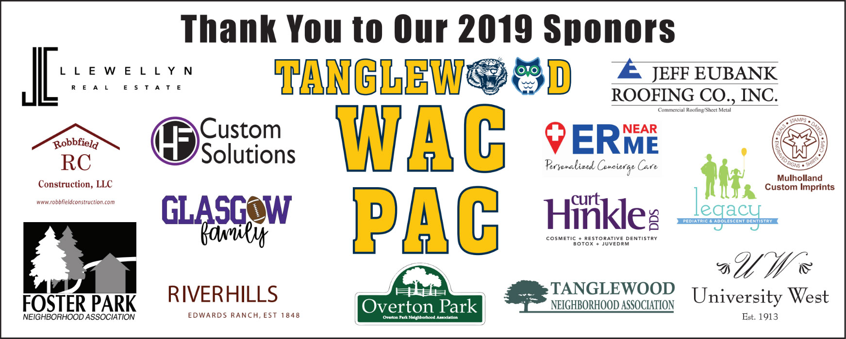 WAC 2019 Sponsors